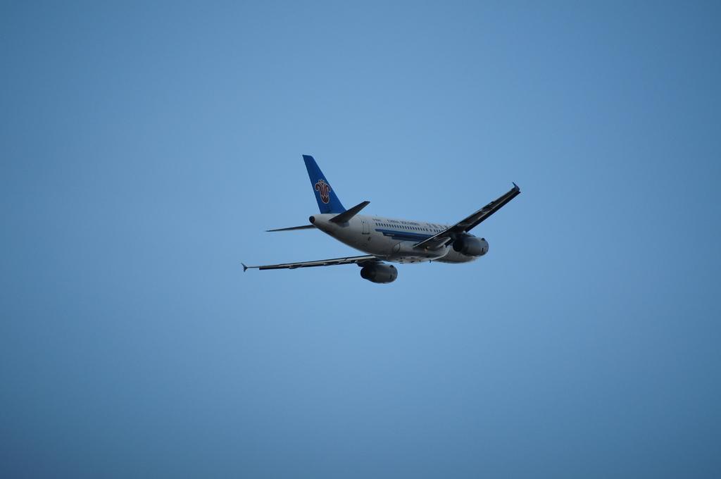 外国の飛行機
