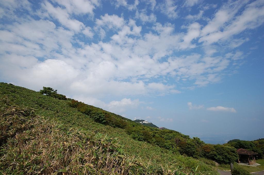 御在所山頂付近の風景