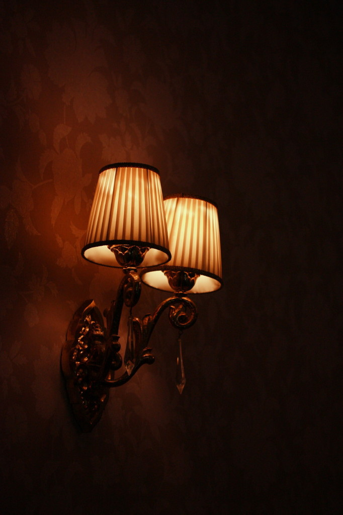 侯爵邸の明かり