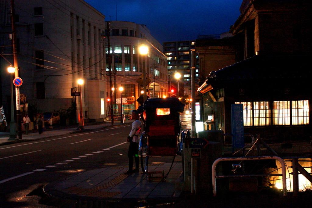 小樽の夜歩き~旧名取高三郎商店