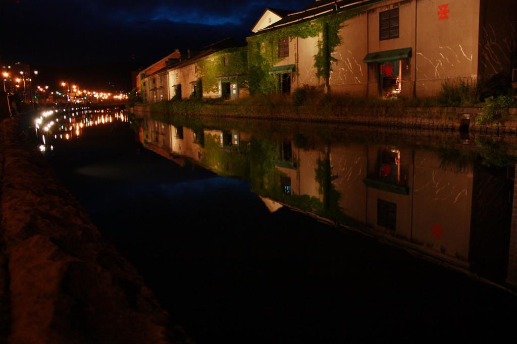 小樽の夜歩き~運河