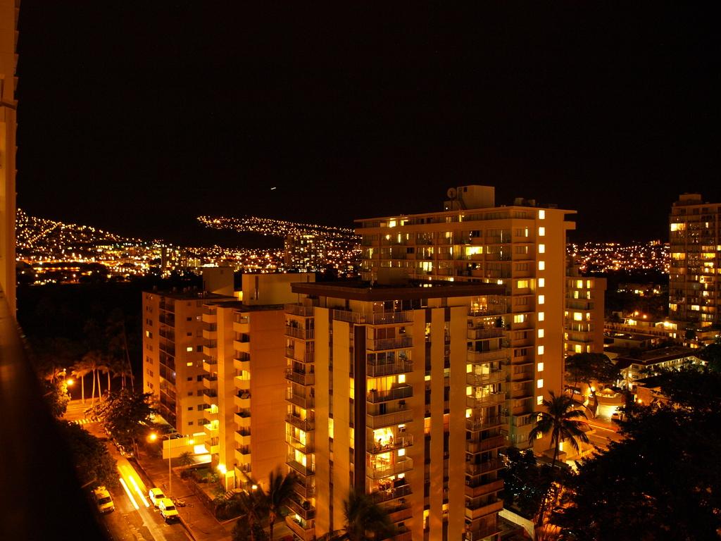 ハワイの夜景No.1