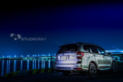 a night view -Forester-