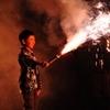 子供手筒花火