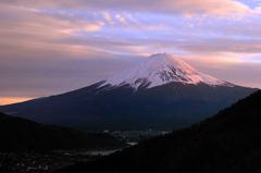 御坂の富士山