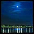 CANON Canon EOS 5D Mark IIで撮影した風景(#001 蒼き夏の月夜に)の写真(画像)