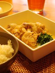 鶏手羽元の煮物。