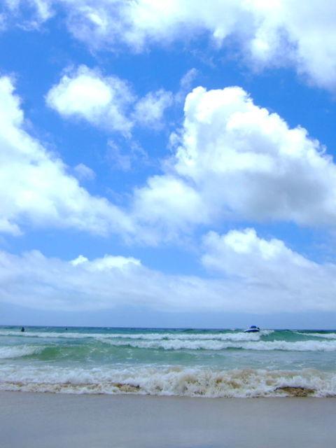 青い空 青い海