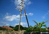 木の電柱が何処か懐かしく