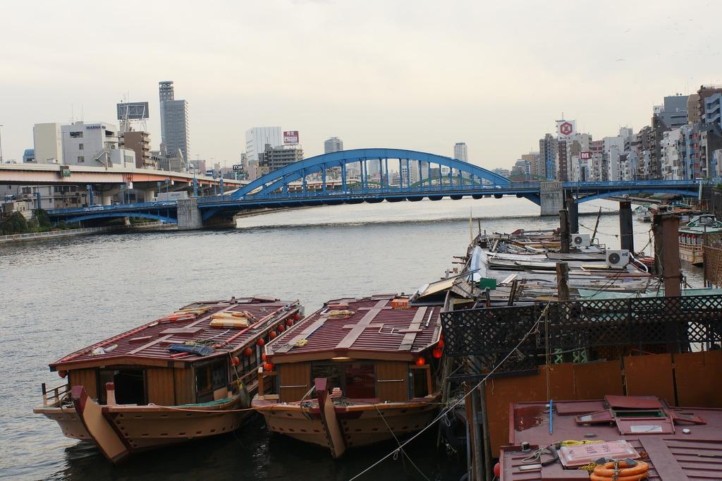 隅田川下流方面景色