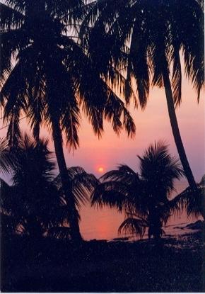 ティオマン島の夕日