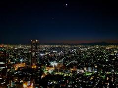 Sun Set Tokyo & Fuji