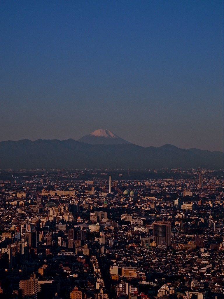 Mt.Fuji from Shinjyuku