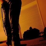 CANON Canon EOS 40Dで撮影した人物(ブラックブーツ)の写真(画像)