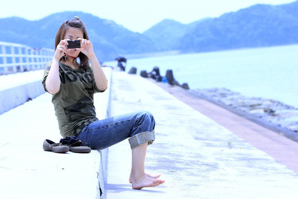 撮って撮られて。