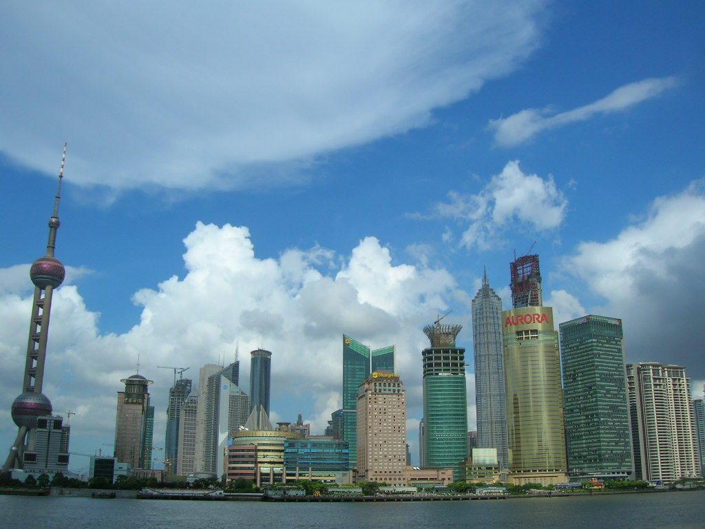 上海の摩天楼