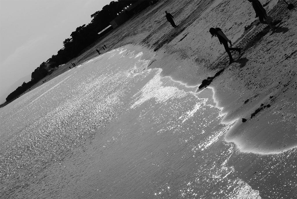 思い出の海岸