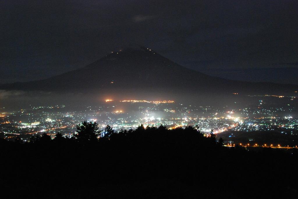 御殿場の夜景