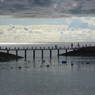 CANON Canon IXY DIGITAL 800 ISで撮影した風景(桟橋の向こう側へ)の写真(画像)