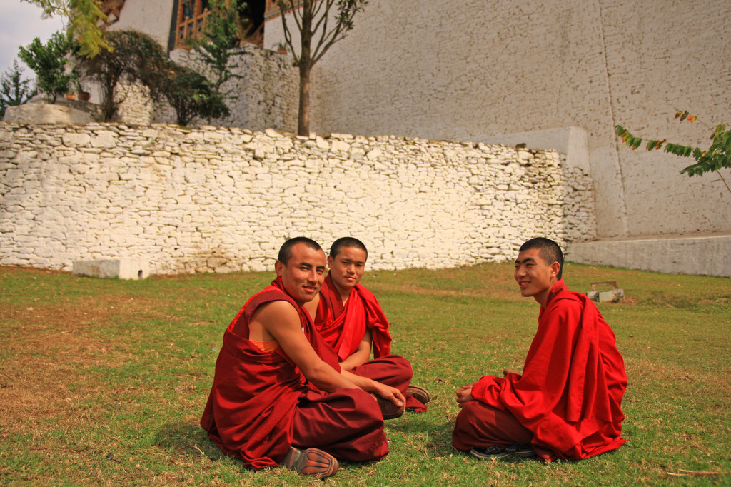素顔の修行僧たち
