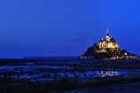 Mont Saint Michel in BLUE
