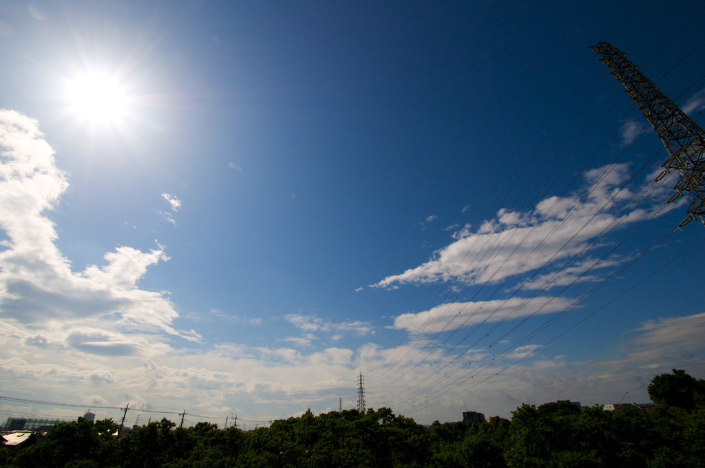 Hello! the sky.