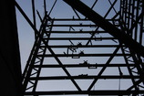 廃墟の鉄塔/息子が撮った作品3