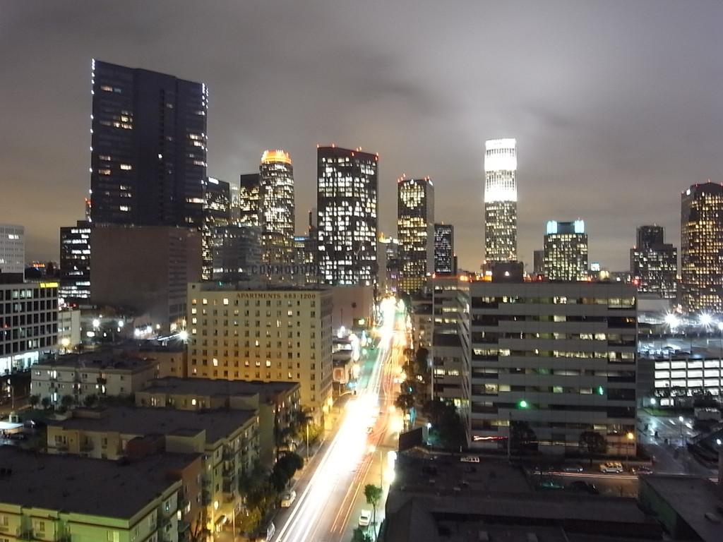 LAの夜景③