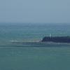 岬の灯台・・・風の強い日①