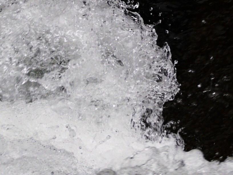 吹割 waterfall