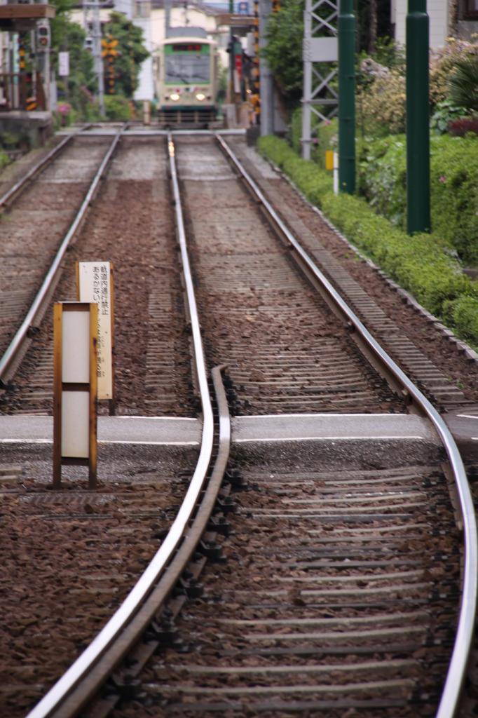 電車がきま~す