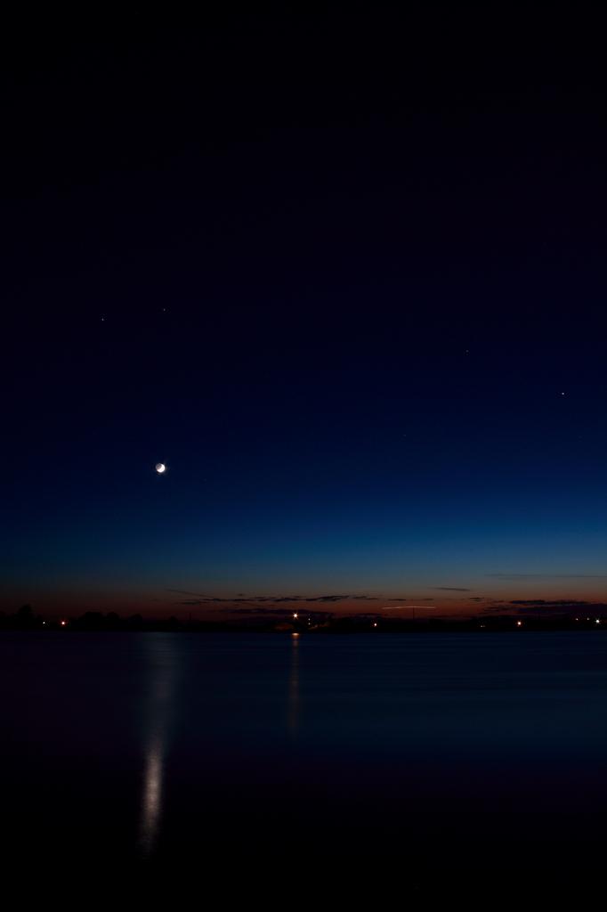 静寂と月光