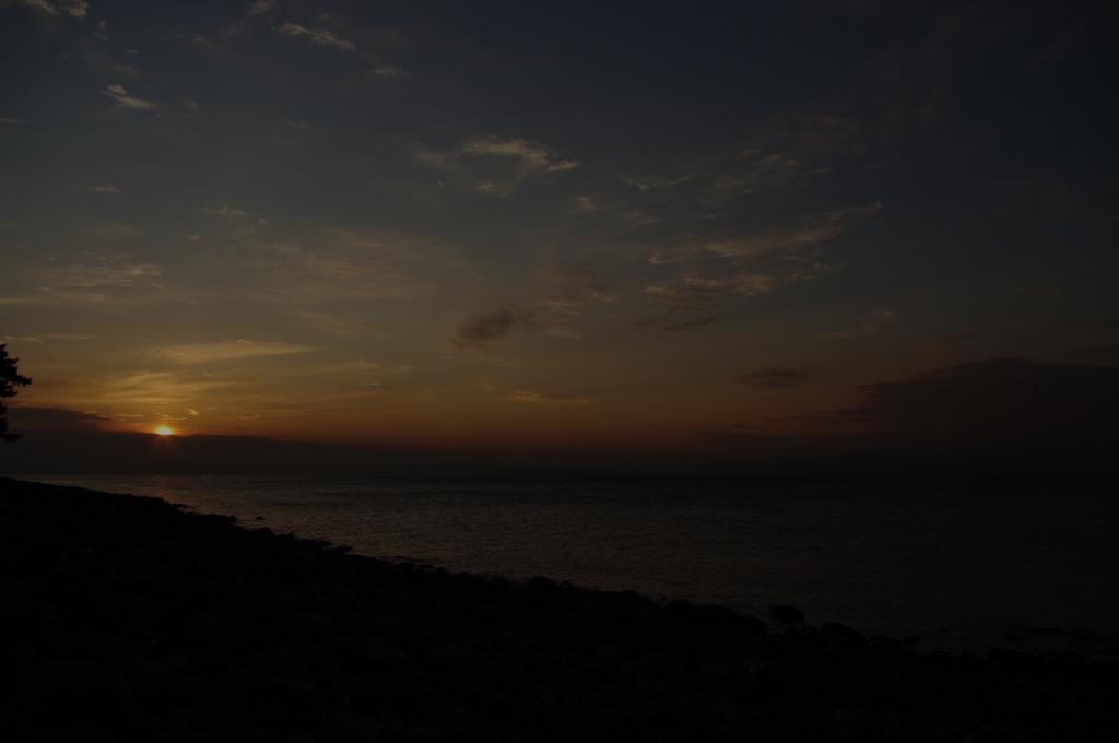 西伊豆 井田海岸の落日