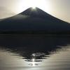 田貫湖ダイヤモンド富士