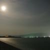 満月の照らす千本浜