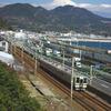 富士と道と電車
