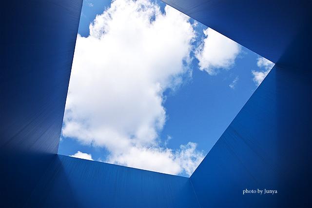 見上げた先の空
