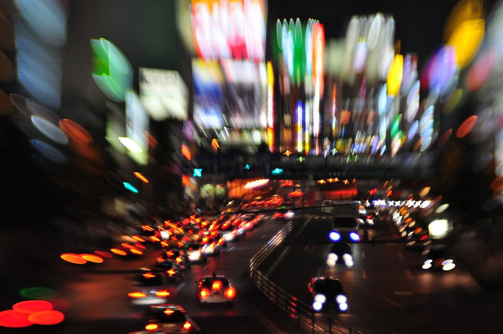 LENSBABYで撮る夜景β