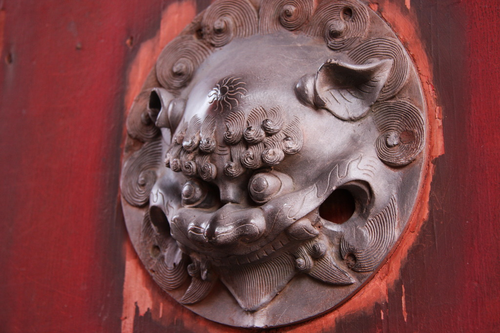 崇福寺の門番