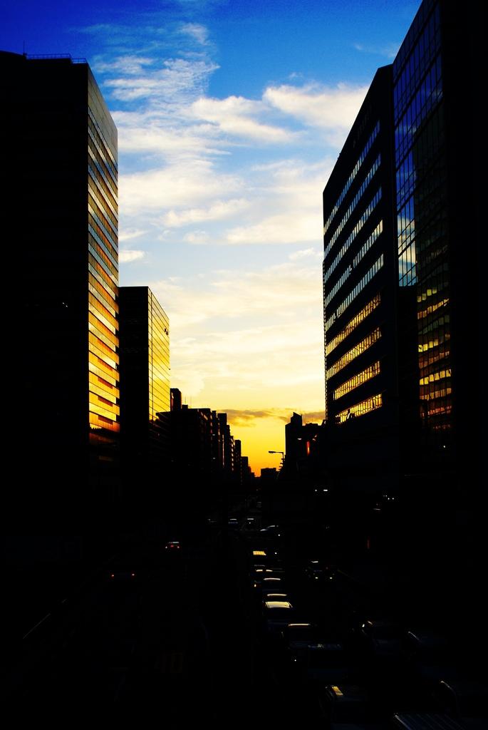 都会の色を変える時間