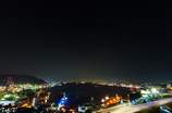 夜の関門海峡