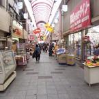 KODAK KODAK V570 DUAL LENS DIGITAL CAMERAで撮影した風景(黄金商店街)の写真(画像)