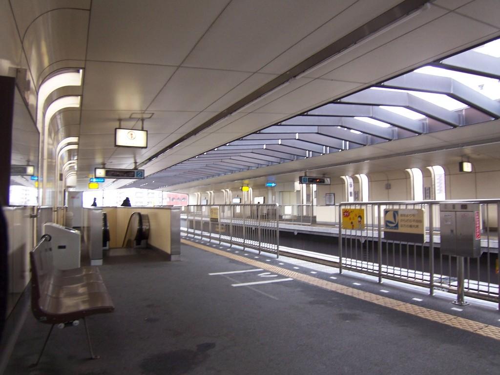 北九州モノレール片野駅