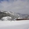 リゾートみのり号雪景色