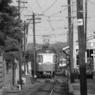 CANON FTQLで撮影した乗り物(昔 江ノ電)の写真(画像)