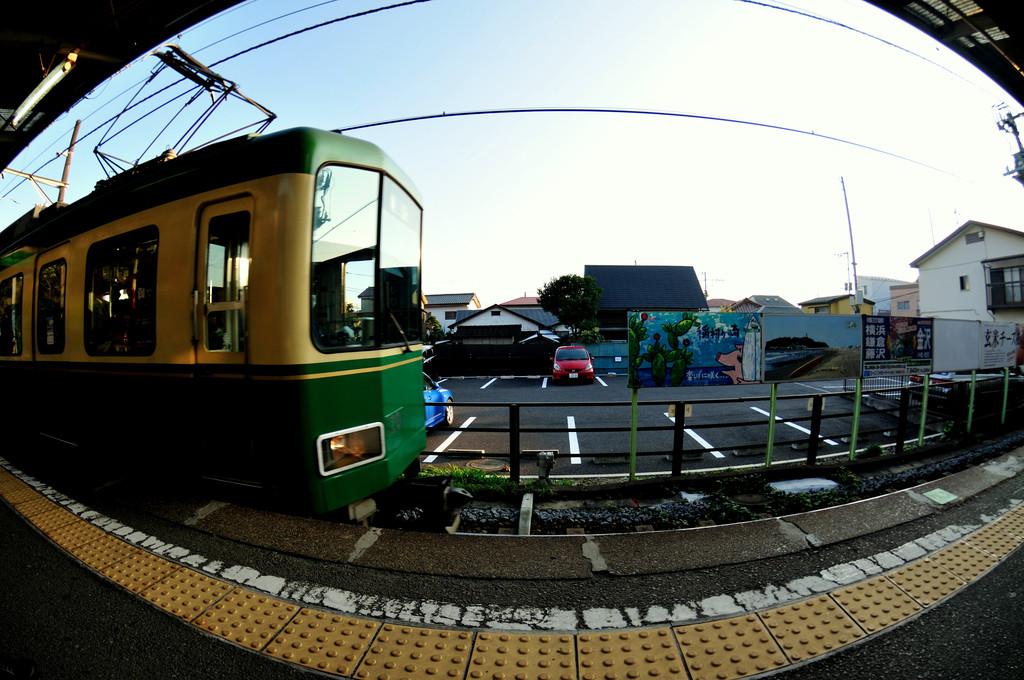 私、江ノ電です♪