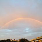 NIKON NIKON D90で撮影した風景(虹だ~♪)の写真(画像)