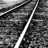 NIKON NIKON D300で撮影した乗り物(街を繋ぐ線路)の写真(画像)