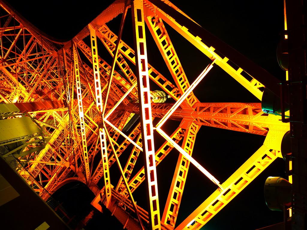 東京タワーの骨格