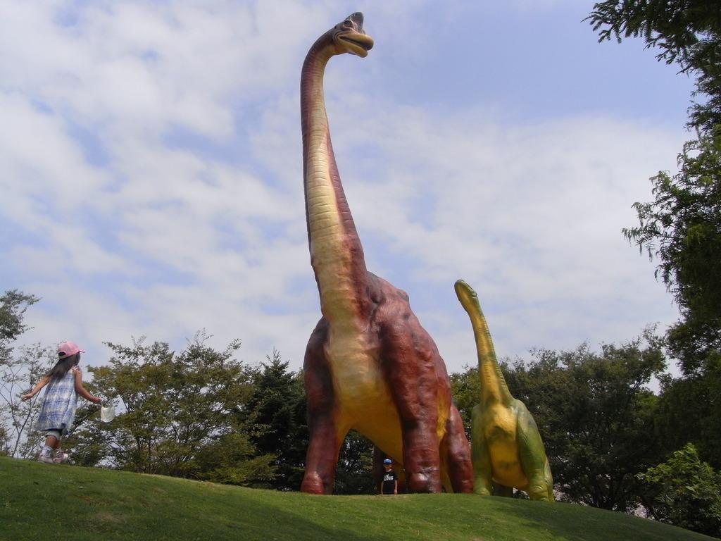 恐竜現る!